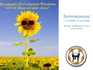 Sommerpause 2020